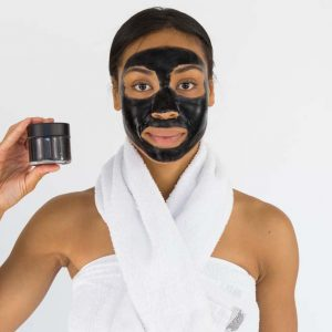 Crna maska za lice