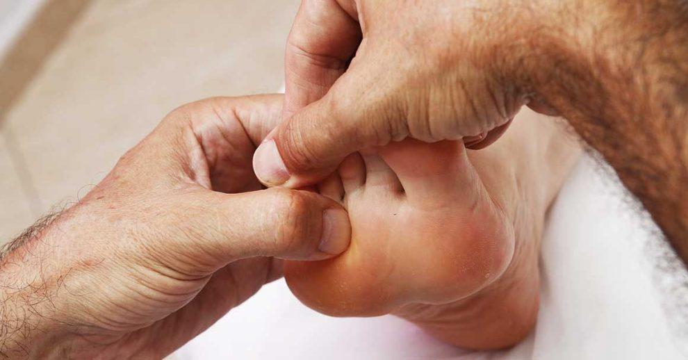 masaža stopala tačke