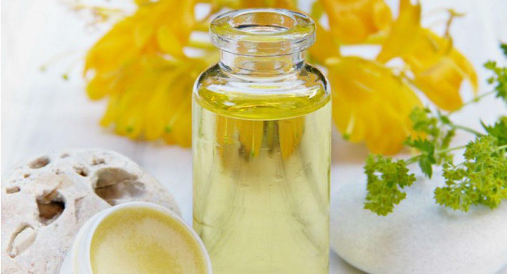 ulje žutog noćurka za lice, kosu i nokte
