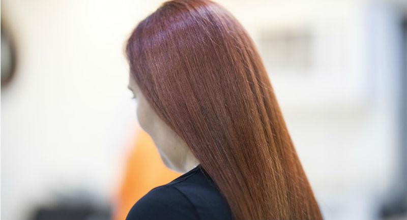 sjajna i glatka kosa