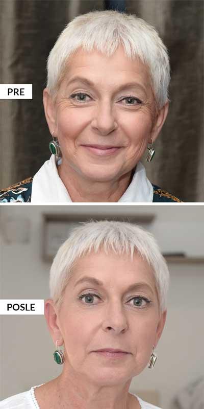 starija plava dama