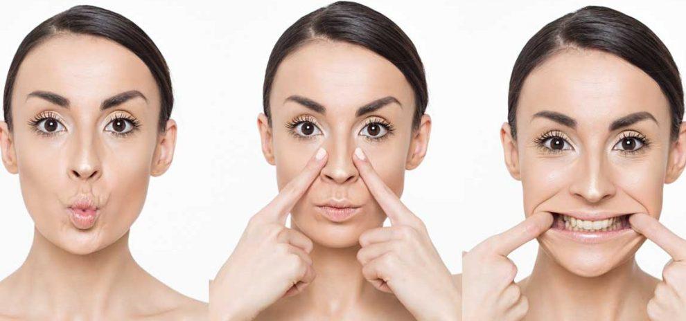 vežbe za lice
