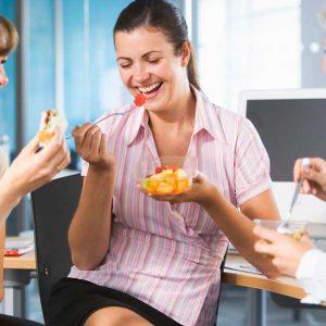 kancelarijski posao i zdrava ishrana