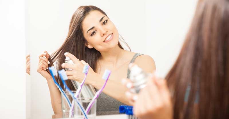 suvo pranje kose