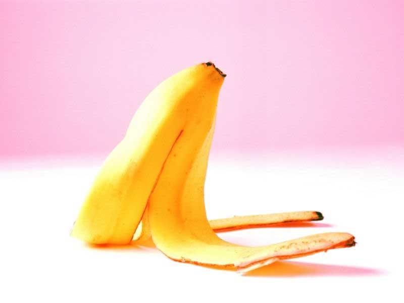 kora od banane za natečene podočnjake