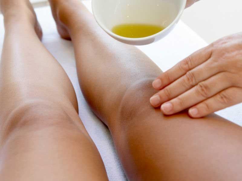 maslinovo ulje i peršun za kapilare