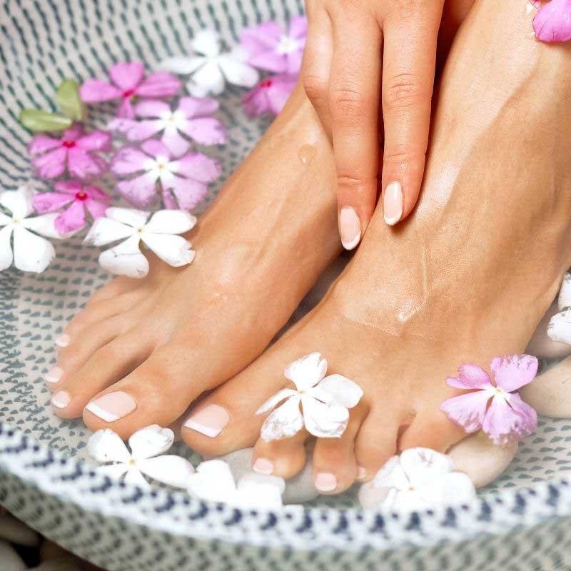 prirodni piling za stopala