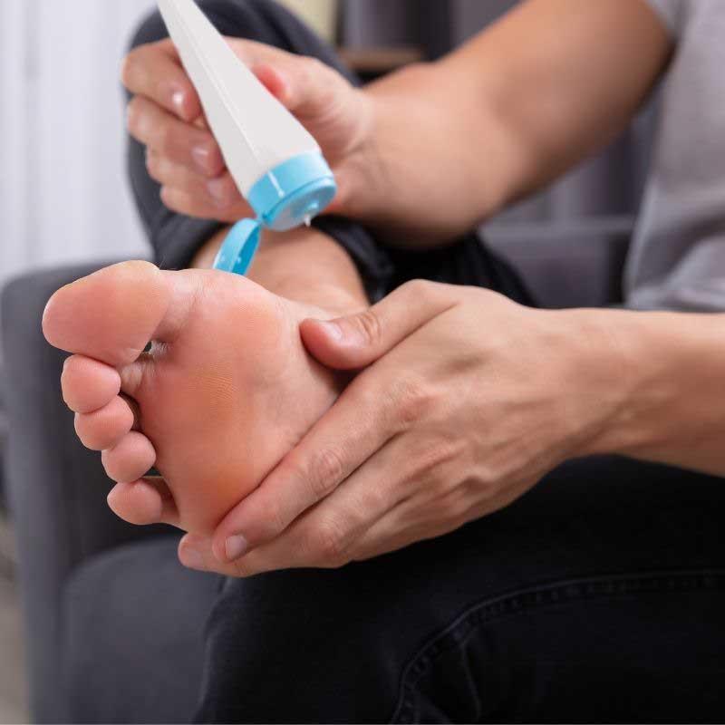 krema protiv znojenja stopala
