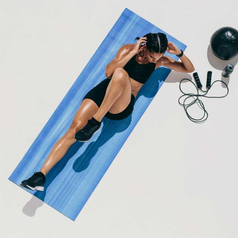 vežbe za stomak u teretani
