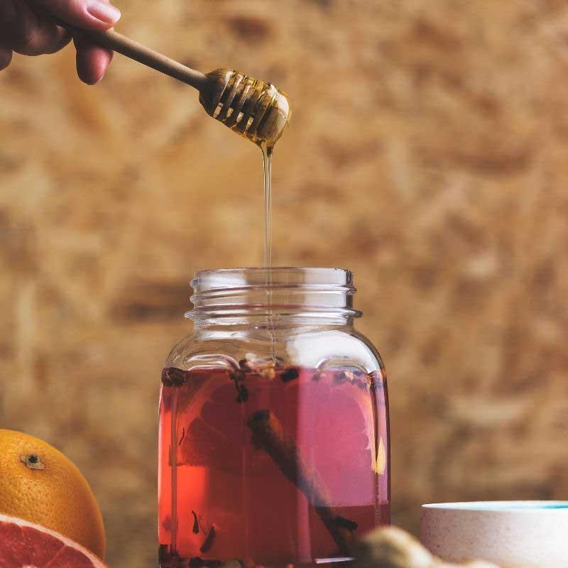 med i jabukovo sirće za mršavljenje