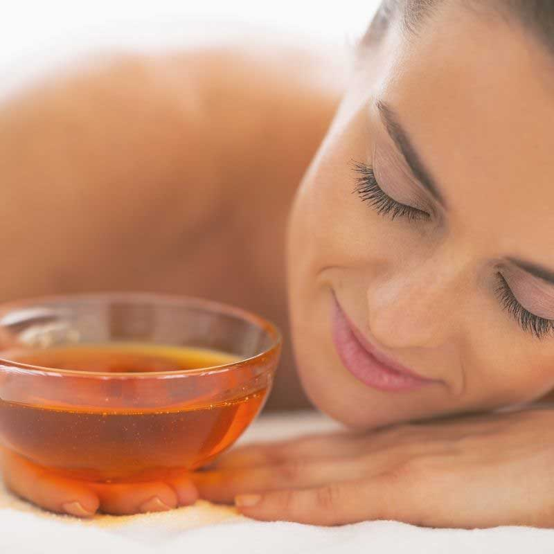 anticelulit masaža medom